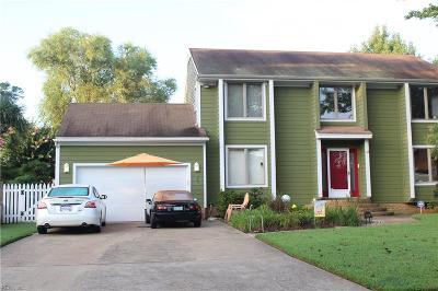 Virginia Beach Single Family Home For Sale: 4925 Bradpointe Ln