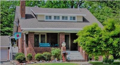 Norfolk Single Family Home For Sale: 2107 Hampton Blvd