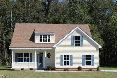 Chesapeake Single Family Home For Sale: Mm Bayberry Elizabeth Place Waterview Exec