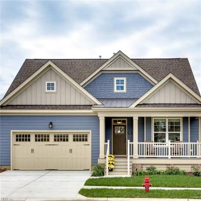 Chesapeake Single Family Home For Sale: 187 Tranquility Trce #2