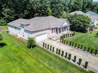 Western Branch Single Family Home For Sale: 2718 Gum Rd