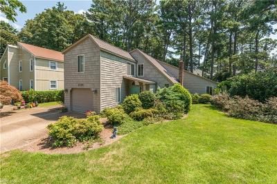 Virginia Beach Single Family Home New Listing: 2220 Indian Hill Rd