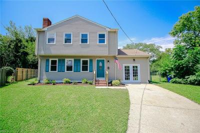Newport News Single Family Home New Listing: 207 Yves Cir