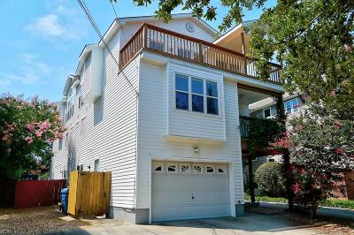 Virginia Beach Single Family Home New Listing: 3781 Jefferson Blvd