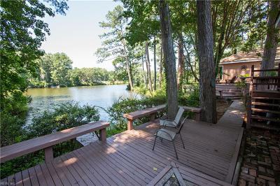 Virginia Beach Single Family Home New Listing: 2629 E Lake Dr