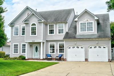 Virginia Beach Single Family Home New Listing: 2460 Kerr Dr