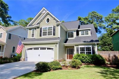 Virginia Beach Single Family Home For Sale: 2126 Bayberry St