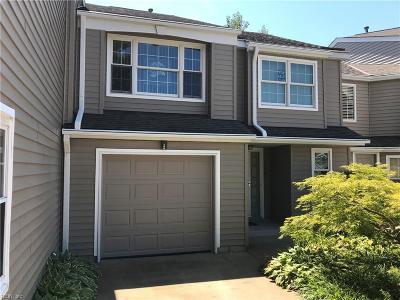Virginia Beach Single Family Home Under Contract: 4863 Cypress Point Cir #102