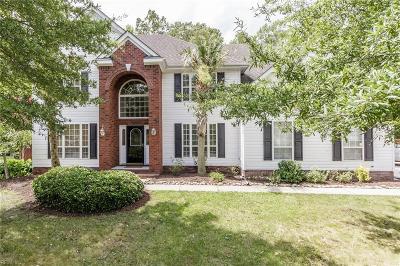 Virginia Beach Single Family Home New Listing: 3812 River Oak Cir