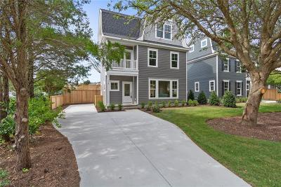 Virginia Beach Single Family Home New Listing: 119 74th St
