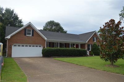 Virginia Beach Single Family Home New Listing: 935 Camino Real S