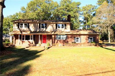 Virginia Beach Single Family Home New Listing: 625 Edwin Dr