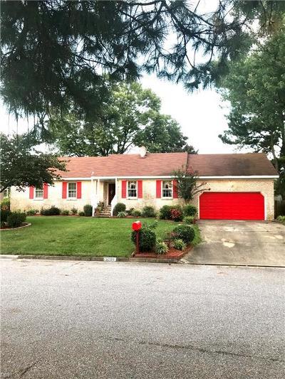 Virginia Beach Single Family Home New Listing: 5208 Balboa Dr
