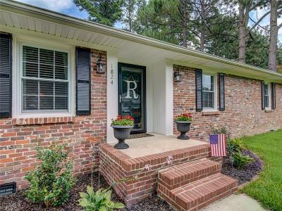 Suffolk Single Family Home New Listing: 1824 Oyster Bay Ln