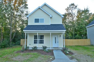 Suffolk Single Family Home New Listing: 607 Ashley Ave