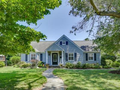 Norfolk Single Family Home New Listing: 9532 Densmore Pl