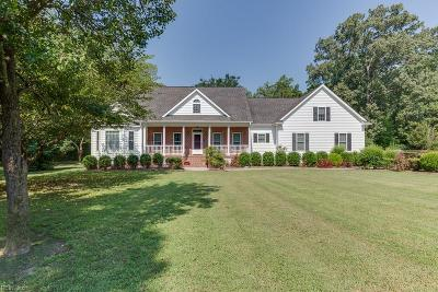 Newport News Single Family Home Under Contract: 261 Richneck Rd