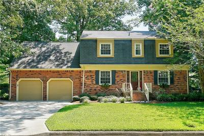 Virginia Beach Single Family Home New Listing: 798 Winthrope Dr