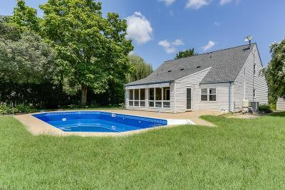 Virginia Beach Single Family Home New Listing: 1796 Stonehaven Ln