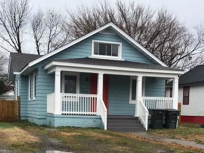 Hampton Single Family Home New Listing: 244 Pocahontas Pl