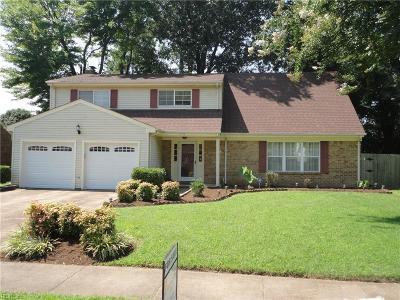 Virginia Beach Single Family Home New Listing: 5493 Stewart Dr