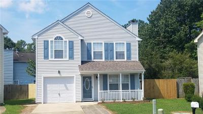 Newport News Single Family Home New Listing: 307 Jacks Pl