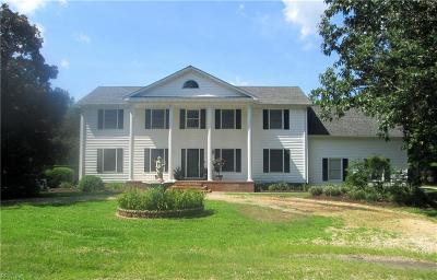 Chesapeake Single Family Home For Sale: 1912 Heathway Trl