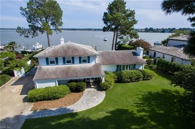 Virginia Beach Single Family Home Under Contract: 2317 Windward Shore Dr