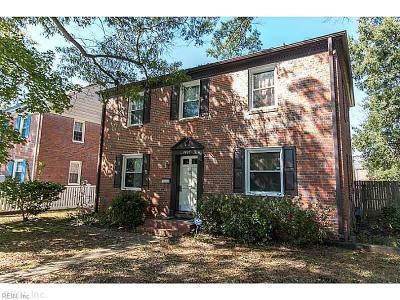 Hampton Single Family Home New Listing: 3805 Stratford Rd