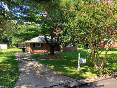Portsmouth Single Family Home New Listing: 4708 Clintwood Dr