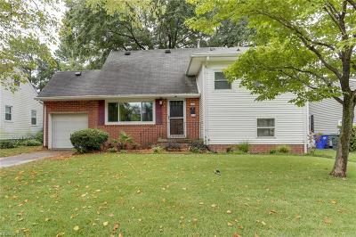 Norfolk Single Family Home New Listing: 248 Forsythe St
