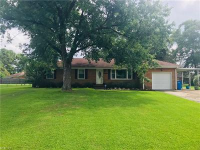 Chesapeake Single Family Home New Listing: 4017 Coffman Blvd