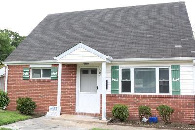 Virginia Beach Single Family Home New Listing: 505 Oxgate Ln