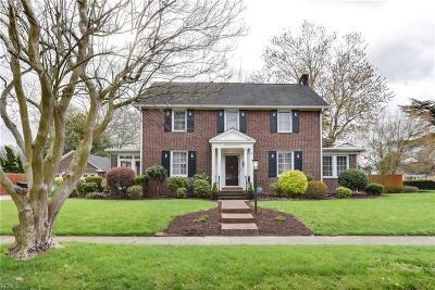 Portsmouth Single Family Home For Sale: 3725 Hartford St