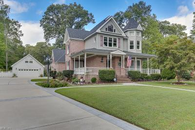 Chesapeake Single Family Home New Listing: 4128 Stephanie Boyd Dr