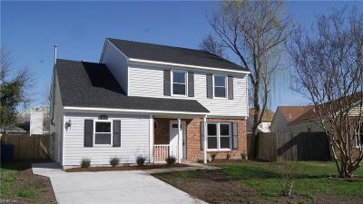 Virginia Beach Single Family Home New Listing: 1308 Graylyn Ct
