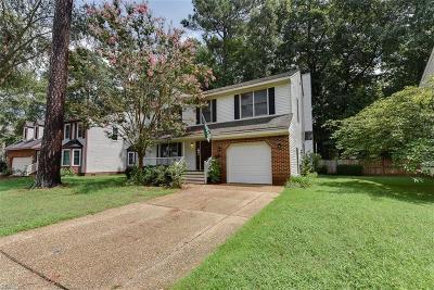 Newport News Single Family Home New Listing: 820 Lancaster Ln
