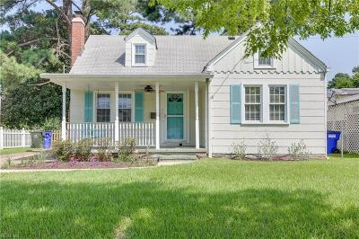 Norfolk Single Family Home For Sale: 426 E Bayview Blvd