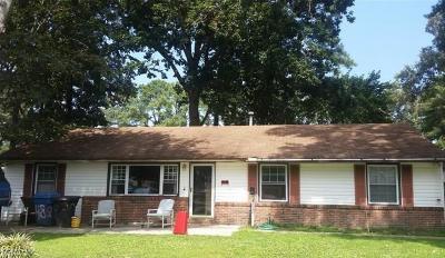 Virginia Beach Single Family Home New Listing: 4828 Conestoga Rd