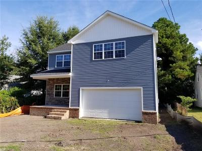 Portsmouth Single Family Home For Sale: 3306 Turnpike Rd