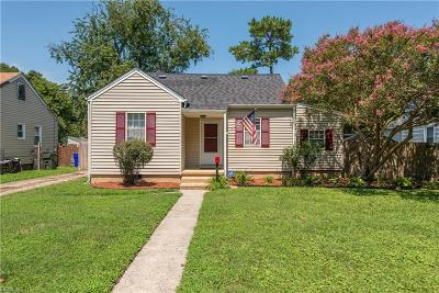 Norfolk Single Family Home New Listing: 6368 Partridge St