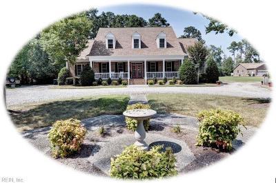 Williamsburg Single Family Home For Sale: 2710 John Tyler Hwy