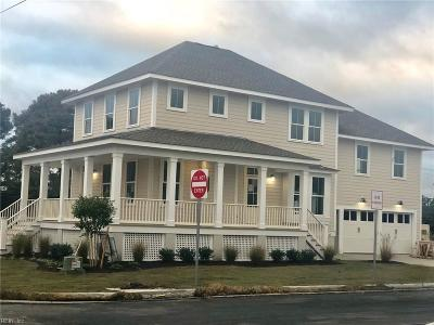 Norfolk Single Family Home New Listing: 9605 6th Bay St
