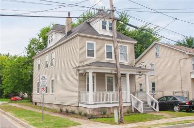 Norfolk Single Family Home New Listing: 1459 Chapel St
