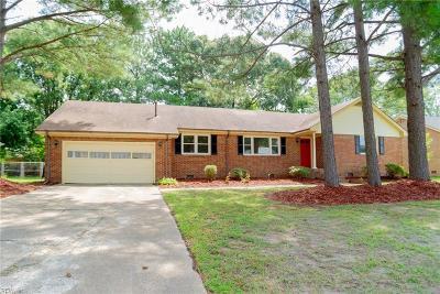 Virginia Beach Single Family Home New Listing: 508 Rolleston Dr