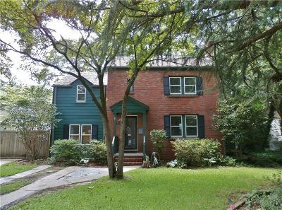 Norfolk Single Family Home New Listing: 211 S Blake Rd