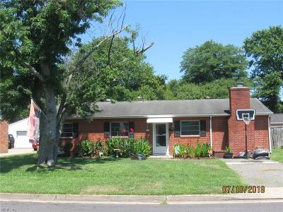 Hampton Single Family Home New Listing: 626 Fairfield Blvd