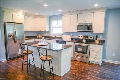 Hampton Single Family Home New Listing: 1827 Womack Dr