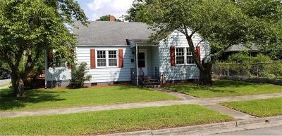 Portsmouth Single Family Home New Listing: 2101 Nashville Ave