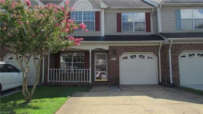 Chesapeake Single Family Home New Listing: 503 Lake Cir S